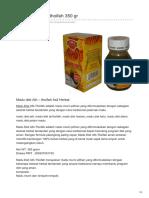Hafaza.co.Id-Madu Diet Ath Thoifah 350 Gr (1)