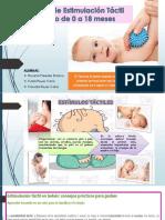 Esrimulación Tactil de 0 a 18 Meses