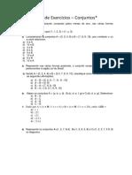 Ex Conjunto Numerico