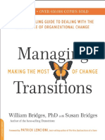 Managing Transitions, 25th Anniversary Edi - William Bridges
