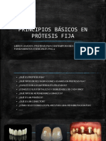 Principios Basicos en Prótesis Fija