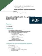 Analisis Armonico en Sistemas Electricos de Potencia