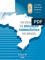 Os Desafios Da Educação Farmacêutica No Brasil - Livro CFF