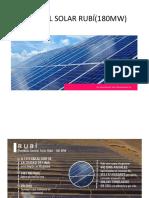 Central Solar Rubí(144,48mw)
