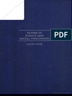 Papers in ethics and social philosophy – David Lewis [Cambridge Press, 2000].pdf
