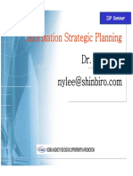 Information Strategic Planning