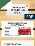 Preparación Física de Una Sub 17