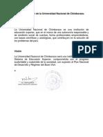 4.1 Misión y Visión de La Universidad Nacional de Chimborazo (1)