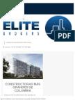 Grandes Constructoras de Colombia