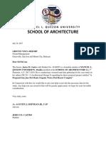 Request Letter Sample