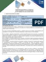 Syllabus Del Curso Procesos de Cereales y Oleaginosas