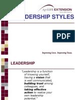 Hr 315 L4 Leadership Styles