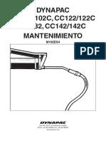 CC102 - MANTENIMEINTO DYNAPAC