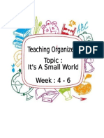 Teaching Organiser 4 6