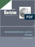 54_restauración Del Culto