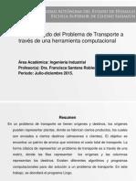 Modelado Del Problema de Transporte