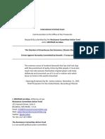 Complaint To The International Criminal Court Against Donald Trump and Scott Pruitt
