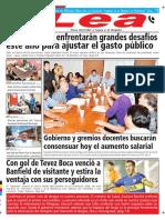 Periódico Lea Lunes 19 de Febrero Del 2018