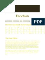 Enochian Magic Rituals