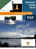 Camp Minsi - 2010 Leaders Guide