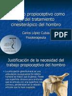 Ejercicios Propioceptivos de Hombro