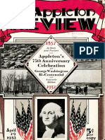 Appleton 75th Anniversary Celebration and George Washington Bicentennial 1857-1932