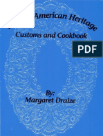 Belgian American Heritage Customs and Cookbook