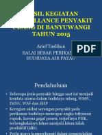 Hasil Surveilan Banyuwangi 2015.ppt