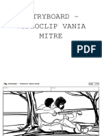 Storyboard - Videoclip Vania Mitre