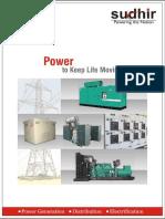 Sudhir Power Ltd. - Brochure