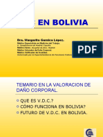 Valoración del daño corporal en Bolivia