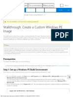 Walkthrough Create a Custom Windows PE Image