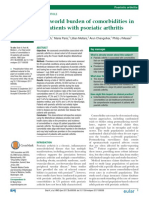 Real-world Burden of Comorbidities in US Patients With Psoriatic Arthritis