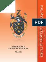 Iipp - Emergency General Surgery