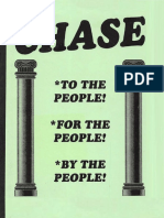 Chase to the People for the People by the People