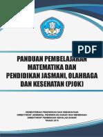 Panduan Pembelajaran Matematika Dan PJOK SD-MI-Abdimadrasah.com