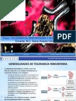 CLASE 11 Tolerancia Inmunitaria y Autoinmunidad