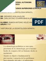 Historia de La Odontopediatria
