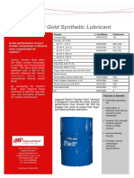Tech Trol Gold Synthetic Lubricant