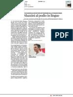 Dal Liceo Mazzini al podio in Lingue - Il Secolo XIX del 19 febbraio 2018