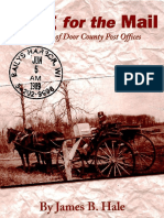 Going for the Mail a History of Door County Post Offices