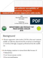 Prevalence and Antibiotic Susceptibility of Pseudomonas Aeruginosa KEVIN-InGGRIS