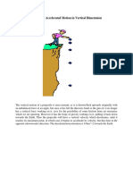 Uniformly Accelerated Motion in Vertical Dimentaion
