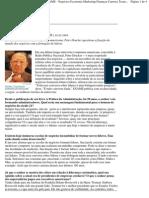Liderança é conversa fiada - Peter F. Drucker