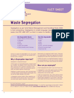 Chintan Waste Segregation Fact Sheet
