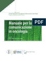 Manuale Per La Comunicazione in Oncologia
