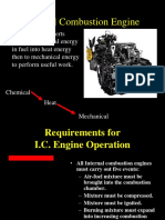 Engine Components and Operation