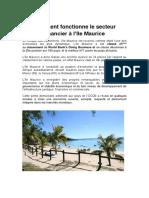 Système Financier Île Maurice Placement Défiscalisation Impôt BOI