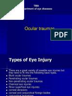 Eye Injury Lecture