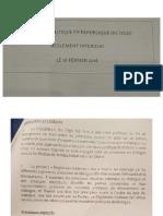 Togo - Code Dialogue politique 2018